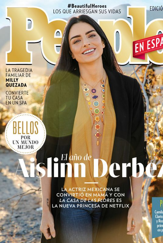 AISLINN DERBEZ in People en Espanol, June 2020