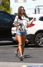 ALESSANDRA AMBROSIO Shopping at Vons Market in Santa Monica 05/14/2020
