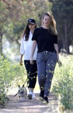 ALICIA SILVERSTONE and ANGELA SARAFYAN Out Hiking in Los Angeles 05/09/2020