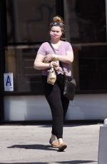 AMBER TAMBLYN Out Shopping in New York 05/15/2020