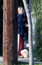 ANNA FARIS Cleans Up Her Campervan in Los Angeles 05/24/2020