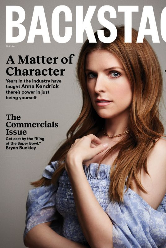 ANNA KENDRICK for Backstage Magazine, May 2020