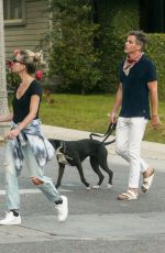 ANNABELLE WALLIS Out with Her Dogs in Los Angeles 05/03/2020
