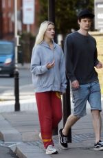 ANYA TAYLOR-JOY and Ben Seed Out in London 05/04/2020