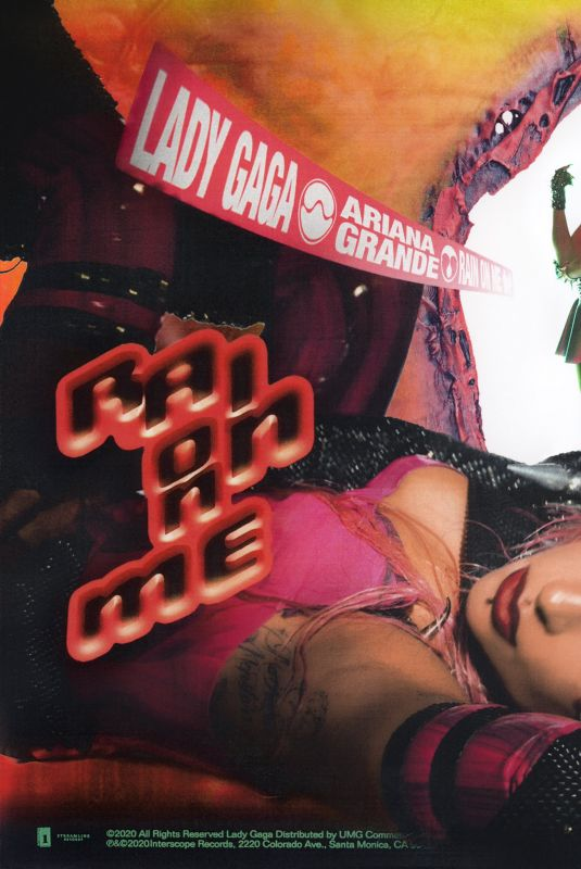 ARIANA GRANDE and LADY GAGA – Rain On Me Promos, May 2020