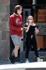 ARIEL WINTER and Luke Benward Out in Burbank 05/22/2020