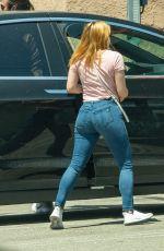 ARIEL WINTER in Denim Arrives at Studio in Los Angeles 05/28/2020