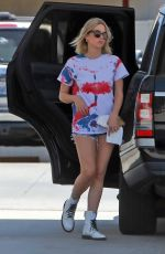 ASHLEY BENSON at a Gas Station in Los Angeles 05/22/2020
