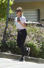 ASHLEY BENSON Out Hiking in Los Angeles 05/28/2020