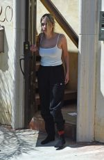 ASHLEY BENSON Receiving Order at Her Home in Los Angeles 05/15/2020
