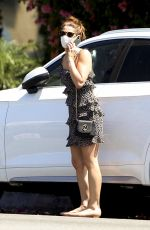 ASHLEY GRENE Getting to Her Car in Los Angeles 05/09/2020