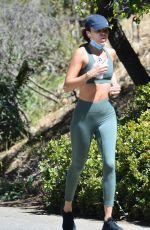 ASHLEY MADEKWE Out Joggin in Hollywood Hills 05/20/2020