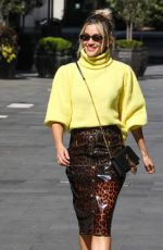 ASHLEY ROBERTS Arrives at Global Radio in London 05/19/2020