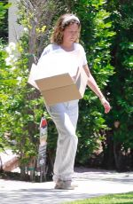 ASHLEY TISDALE Outside Her House in Los Feliz 05/08/2020