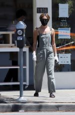 ASHLEY TISDALE Wearing Mask Out for Coffee in Los Angeles 05/05/2020
