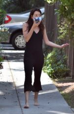 AUBREY PLAZA Out and About in Los Angeles 05/23/2020