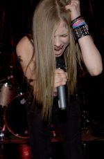 AVRIL LAVIGNE Performs at a Promotional Concert in New York 05/30/2020