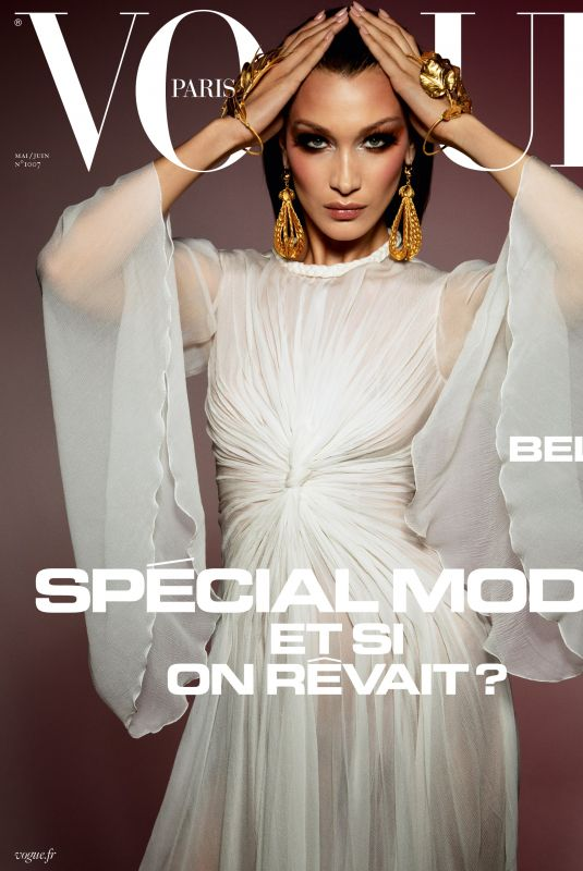 BELLA HADID in Vogue Paris, May/June 2020