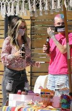 BELLA THORNE at a Birthday Party in Studio City 05/03/2020