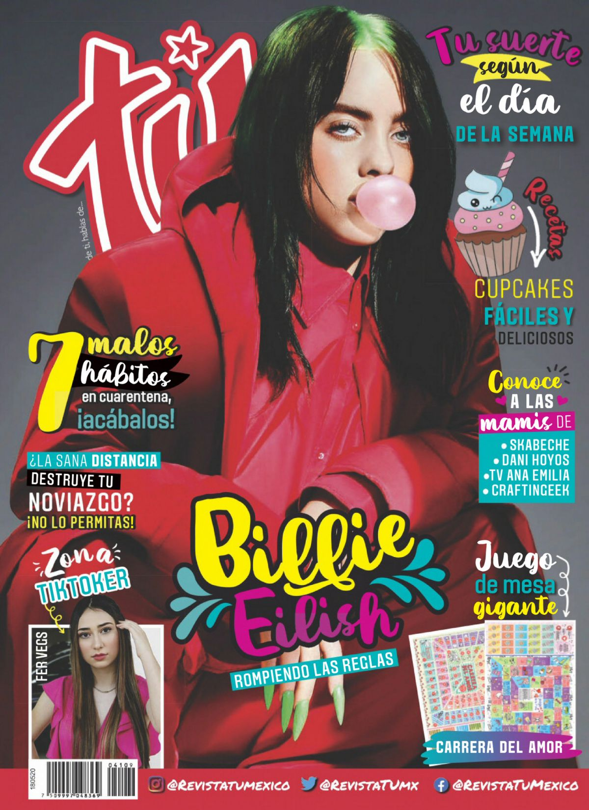 Billie Eilish In Tu Style Magazine Mexico May 2020 Hawtcelebs