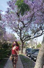 BLANCA BLANCO Heading to Fedex in Los Angeles 05/30/2020