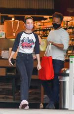 BRIE LARSON and Elijah Allan-Blitz Out Shopping in Los Angeles 04/30/2020