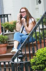 BROOKE SHIELDS Outside Her Home in New York 05/28/2020
