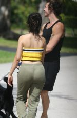 CAMILA CABELLO and Shawn Mendes Out with Their Dog in Miami 05/06/2020