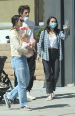 CAMILA MENDES Out and About in West Hollywood 05/15/2020