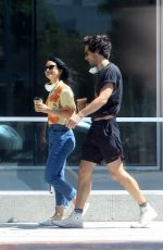 CAMILA MENDES Out for Coffee with a Friend in Los Angeles 05/20/2020
