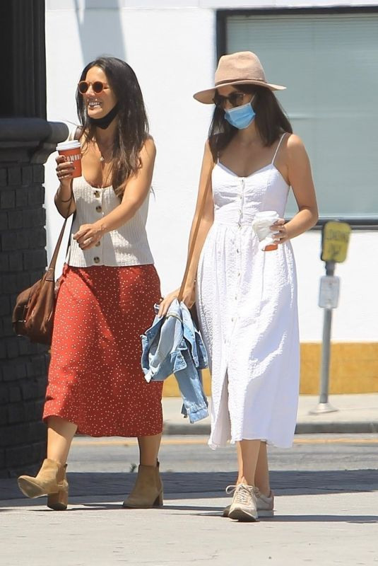 CAMILLA BELLE Out with a Friend in West Hollywood 05/28/2020