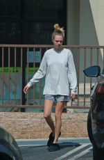 CARA DELEVINGNE Out and About in Los Angeles 05/13/2020