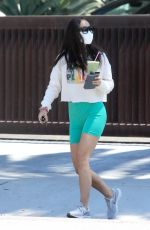CARA SANTANA in Tight Shorts Out in West Hollywood 05/27/2020