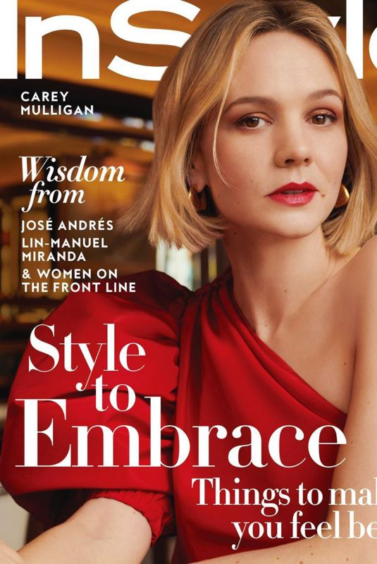 CAREY MULLIGAN in Instyle Magazine, June 2020