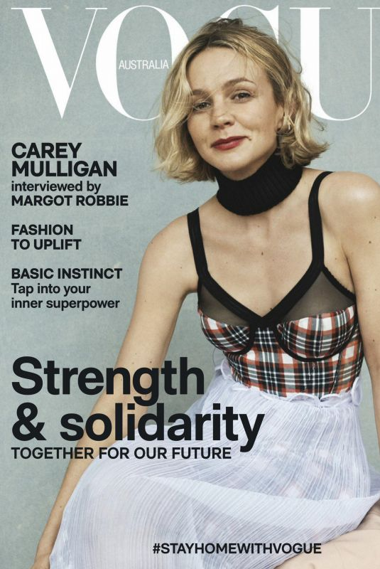 CAREY MULLIGAN in Vogue Magazine, Australia May 2020