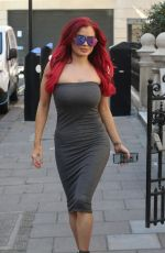 CARLA HOWE in a Tight Dress Out in London 05/29/2020