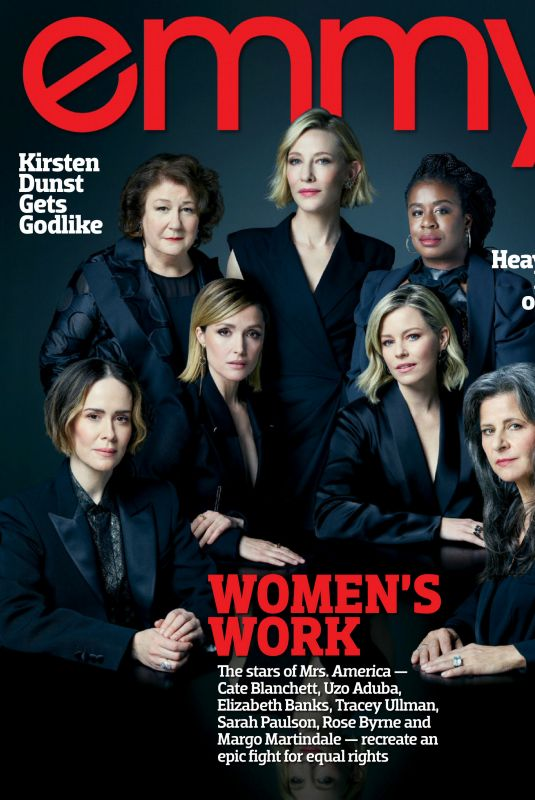 CATE BLANCHETT, ROSE BYRNE, ELIZABETH BANKS and SARAH PAULSON in Emmy Magazine, April 2020