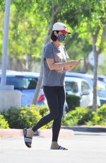 CATHERINE BELL Out Shopping in Calabasas 05/04/2020
