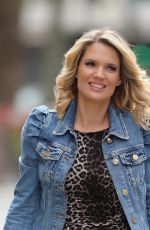 CHARLOTTE HAWKINS Arrives at Classic FM Radio Show in London 05/22/2020