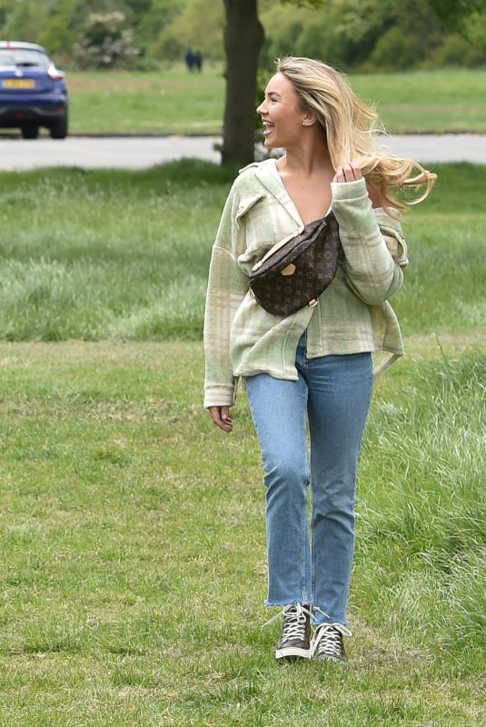CHLOE ROSS and ELLA WISE Out in Chigwell 05/24/2020