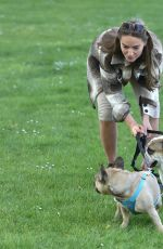 CHLOE ROSS Out with Her Dogs in Chigwell 05/13/2020