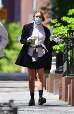 CHLOE SEVIGNY Out and About in New York 05/14/2020