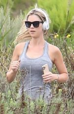 CHRISTINA ANSTEAD Out Jogging in Newport Beach 05/28/2020