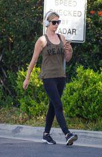 CHRISTINA EL MOUSSA Out Jogging in Newport Beach 05/06/2020