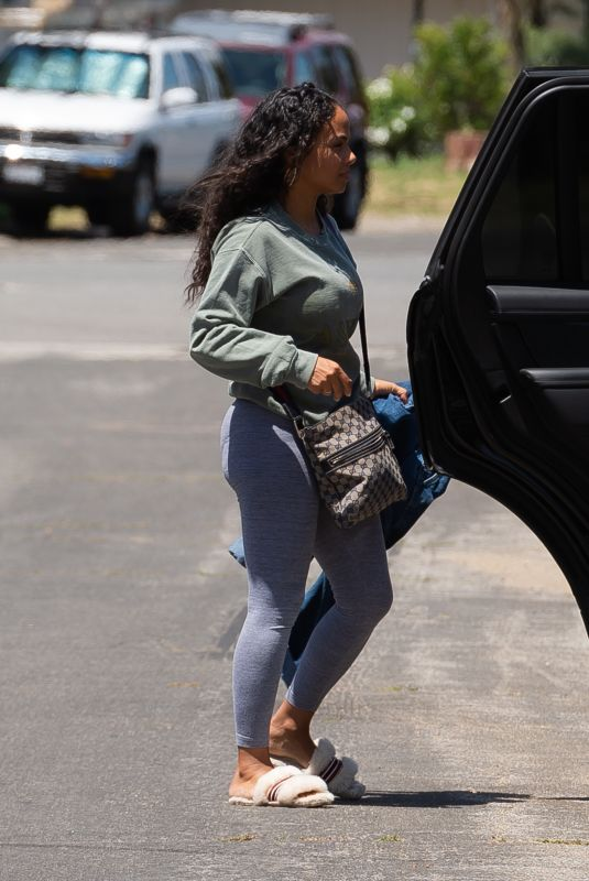 CHRISTINA MILIAN Out in Los Angeles 05/14/2020