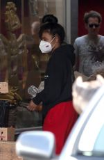 CHRISTINA MILIAN Wearing Mask Out Shopping in Los Angeles 04/04/2020