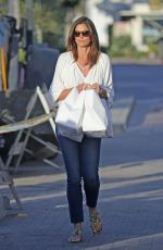 CINDY CRAWFORD Out Picks up Dinner in Malibu 05/17/2020