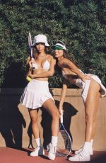 CINDY MELLO and BRUNA LIRIO at a Photoshoot, January 2020