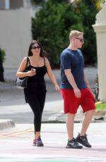 CLAUDIA ROMANI and Chris Johns Out in Miami Beach 05/23/2020