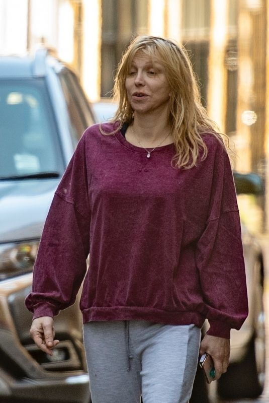 COURTNEY LOVE Out and About in London 05/29/2020